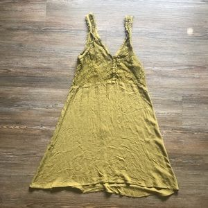 Heritage 1981 Forever 21 Green Lace Dress